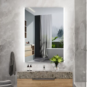 600x800mm Illuminated Bathroom Mirror [IP44] with Bluetooth Speaker / Demister