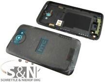Original HTC ONE XL Cover Gehäuse Rückseite Backcover Schale Deckel schwarz
