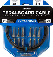 Boss BCK-12 Custom Solderless Pedalboard Patch Cable kit!