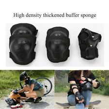 Protective Gear Set Knee Elbow Pads Wrist Guards Adult Kids Skateboard Cycling