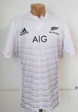 All Blacks New Zealand 2014/2015 Away Alternate Rugby Shirt Jersey Adidas Size L