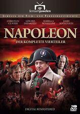 Napoleon 1-4 - Christian Clavier, Gerard Depardieu (2002) Fernsehjuwelen [2 DVD]