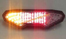 Yamaha FZ09 MT09 FZ10 Integrated LED Taillight; Brake and Turns w/ Smoked Lens