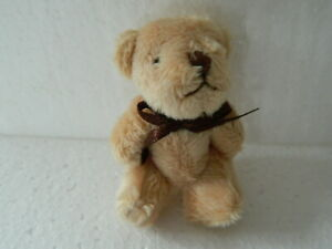(M4.1)1/12th scale DOLLS HOUSE SWEET LIGHT BROWN TEDDY BEAR