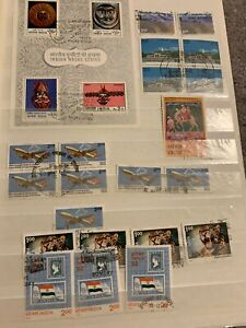 Extremely Rare India Mint Stamp Cancellations Collection