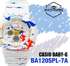 Casio Baby-G New Splatter Pattern of BA-120 Watch BA120SPL-7A AU FAST & FREE