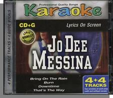 Karaoke CD+G - Jo Dee Messina - New 4 Song CD! Bring On The Rain, That's The Way