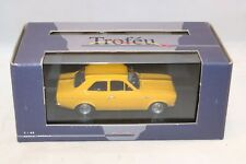 Trofeu 501 Ford Escort 1300 GT 1968 Spring yellow perfect mint in box 1:43