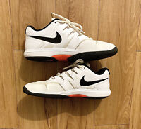 Men Nike Air Zoom Prestige HC Men's Size 12 Tennis Shoes White Black AA8020 106