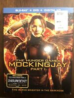 The Hunger Games: Mockingjay, Part 1 (Blu-ray/DVD, 2015, 2-Disc Set)