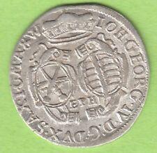 Sachsen 1/12 Taler 1694 EPH fast Stempelglanz toll erhalten nswleipzig
