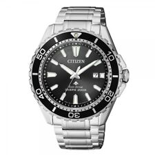 Citizen Promaster Marine Herrenuhr Uhr Eco Drive Taucheruhr Schwarz BN0190-82E