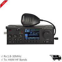 RS-918 HF SDR Transceiver Receiving HF SSB Shortwave Radio Amature Radio