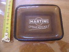 Cendrier MARTINI on the rocks ! bistrot cafe publicite