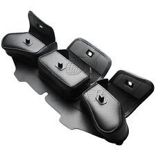 Windshield Bag Saddle 3 Pouch Pocket Fairing for Harley FLHTC FLHX Touring 96-13