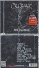 CD--OUTRAGE--BRUTAL HUMAN BASTARD