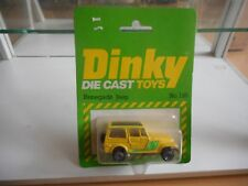Dinky Toys Renegade Jeep in Yellow on Blister (Made in Hong Kong)