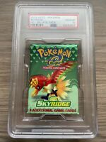 Pokemon Skyridge Booster Pack PSA 10 - Ho-Oh Artwork