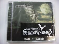 SHADOWSREIGN - CULT OF LILITH EP - BRAND NEW CD WITH PATCH - 2006 - LORD VAMPYR