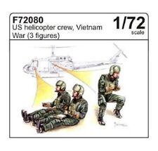 CMK F72080 US UH-1 Helicopter Crew in Vietnam War Resin Figuren in 1:72