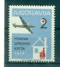 CROCE ROSSA - RED CROSS YUGOSLAVIA 1957 Charity Stamp