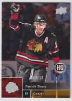 2009-10 Upper Deck UD High Gloss /10 Patrick Sharp Chicago Blackhawks