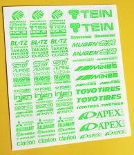 RC Drift vert vif autocollants décalques HPI Losi Drift-R Kyosho
