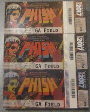 Phish Ticket Stub Magnet Dicks Denver Colorado 2017 Ptbm without Pollock Art