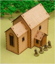 Dark Age CHURCH 28mm Laser cut MDF scale Building  J011