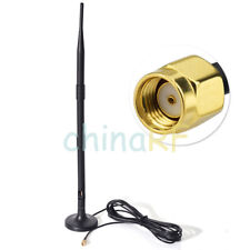 9dbi 2400-2500MHz RP-SMA WiFi Antenna Magnetic Base with 3m Extension Cable