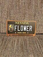 LAS VEGAS GOLDEN KNIGHTS CHANCE FLOWER FLEURY DMV LICENSE PLATE CARD STANLEY CUP