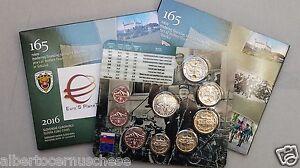 2016 8 monete 3,88 euro SLOVACCHIA Slovaquie Slovakia Slowakei financial admin