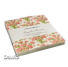 "Charm Pack ""Bespoke Blooms"" süß Patchwork Stoff Moda, 42 Scraps à 5"" (12,7cm)"