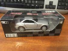NewRay 1/32 Scale Friction Motor Mercedes-Benz SLK - Silver - Boxed