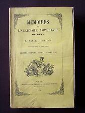 Mémoires de l'Académie Impériale de Metz - 1869-1870