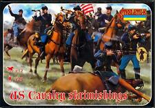 Strelets Models 1/72 UNION CAVALRY SKIRMISHING American Civil War Figure Set