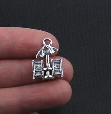 10Pcs Beach Chairs Alloy Beads Tibetan Silver Charms Pendant DIY 20*14mm