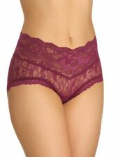 New listing Hanky Panky 1C2381 American Beauty Rose Panty- Plum Rose (Plmr) Xlarge Nwt $38