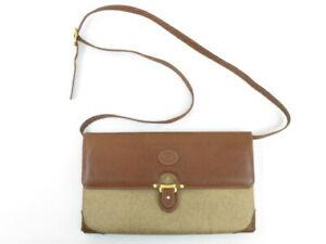 GUCCI Old Gucci Vintage Bicolor Shoulder bag Pre-owned