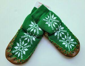 NWT Hanna Andersson 2-4 Baby Swedish Slipper Socks Moccasins Snowflake RM1-794
