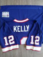 Vintage Mitchell Ness Replica Collection Buffalo Bills Jim Kelly NFL Jersey 44 L