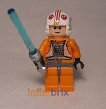 Lego Luke Skywalker Pilot aus Set 8129 AT-AT Walker + 9493 X-Wing Fighter sw295
