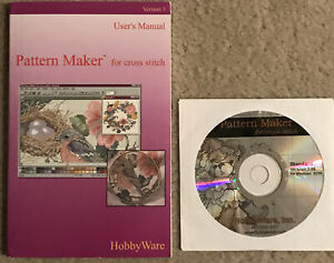 Hobby Ware Created Your Own Pattern Maker For Cross Stitch Version 3.0 Windows