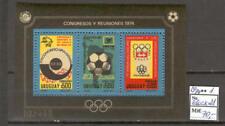 Soccer 1974 A88 Uruguay block FIFA Cup Munich CV 70 eur