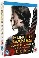 THE HUNGER GAMES COMPLETE COLLECTION BLU RAY BOX SET NEW 1-4 1 2 3 4