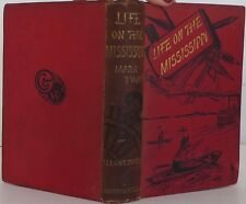 MARK TWAIN Life on the Mississippi FIRST UK EDITION