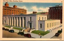 Postcard New Post Office Reading Penna