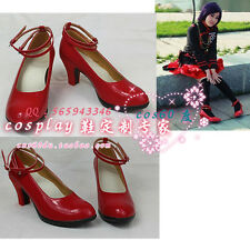 D.Gray-man Lenalee Lee Cosplay Red Shoes S008
