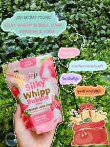 2 x Silky Whipp Bubble Refresh & Firm Strawberry &Honey.100 g.