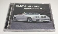 BMW Audiophile Demonstration Disc The Ultimate Sonic Transparency